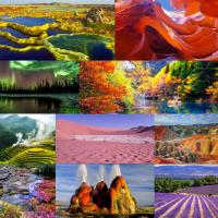 Cele mai colorate locuri din lume
