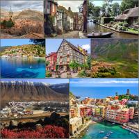 Unele dintre cele mai frumoase orășele din Europa