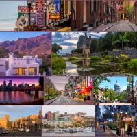 Unele dintre cele mai frumoase orașe din America